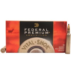 Federal 7mm Remington Magnum 150gr Sierra Game King BTSP Vital-Shok /20