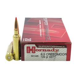 Hornady 6.5 Creedmoor 129gr SST Superformance Ammunition /20