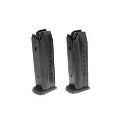 Ruger SR9/9C/9E 9mm Luger 17 Round Magazine Black 2 Pack