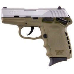 SCCY Sccy CPX-1 TTDE 9mm SS/FDE (Manual Safety)