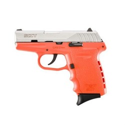 SCCY CPX-2 TTOR 9MM SS/ORANGE (NO EXTERNAL SAFETY)