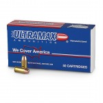 Ultramax 40 S&W 180gr Lead Conical Nose Ammunition /50/500