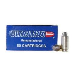 Ultramax 40S&W 180Gr. Conical Nose/50