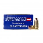 Ultramax 40S&W 180gr Full Metal Jkt/50