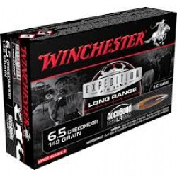Winchester Expedition Big Game 6.5 Creedmoor 142gr AccuBond LR Ammunition /20